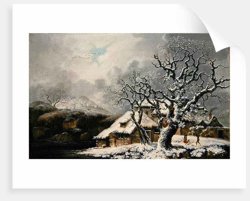 A Winter Landscape by George