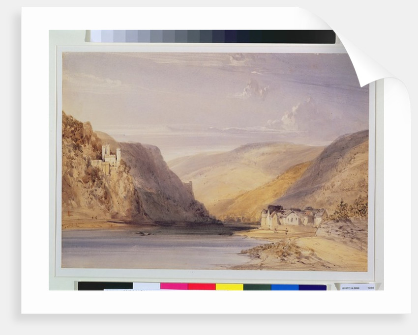 The Rhine at Assmannshausen by William Callow