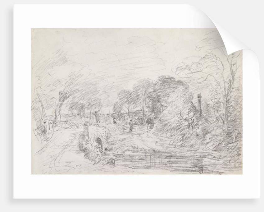 A Bridge near Salisbury Court by John Constable
