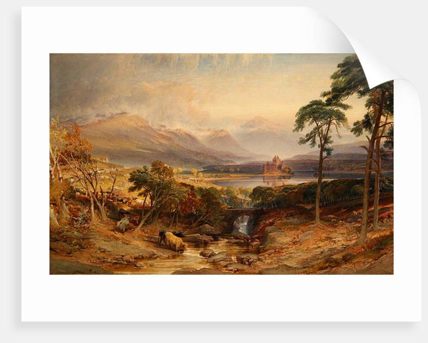 Kilchurn Castle, Argyllshire by William Leighton Leitch