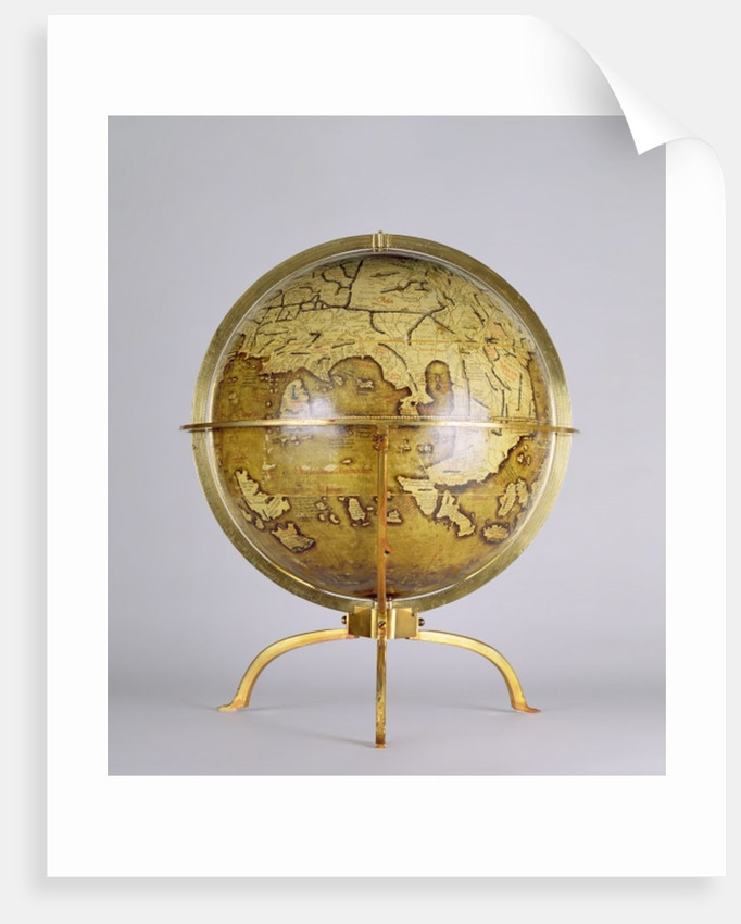 Terrestrial Globe by Martin Waldsemuller