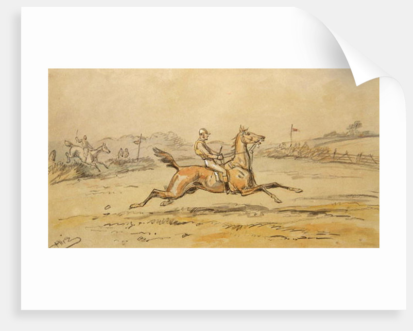 Portrait of William Blake by Hablot Knight Browne