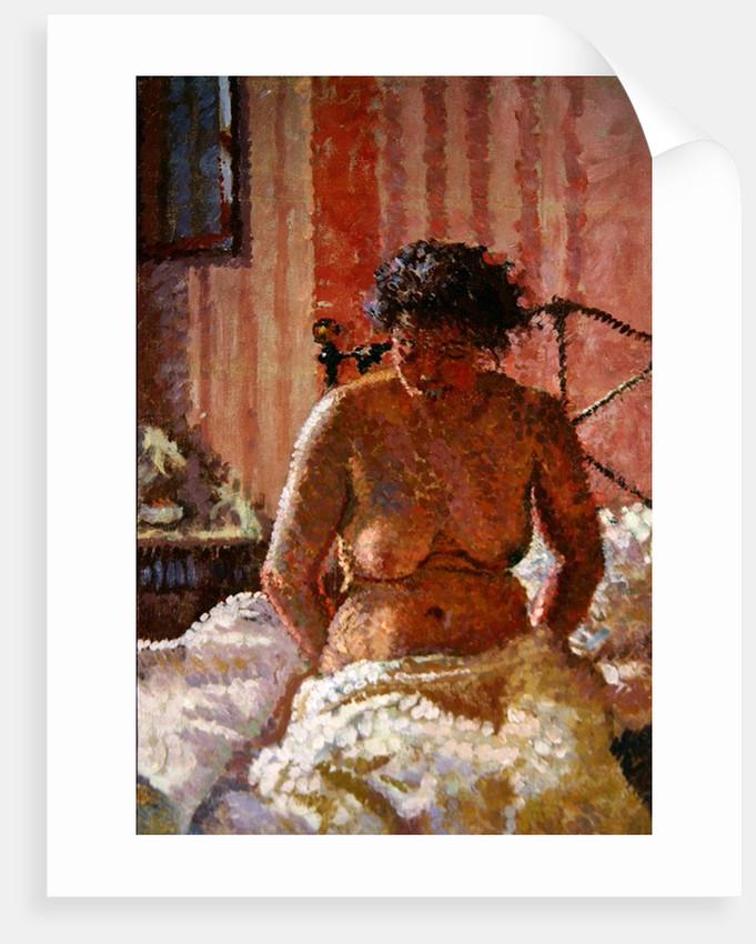 Nude in an Interior by Harold Gilman