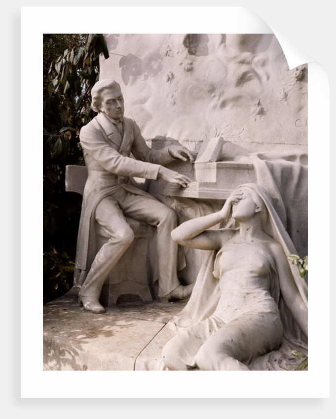 Monument to Frederic Chopin by French School