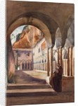Cloisters at Amalfi by Giacinto Gigante