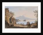 View of Vesuvius from the Mergellina, c.1845 by Catherine Louisa Marlay