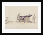 Whitworth's Rifle-Cannon, c.1860 by Unknown Artist