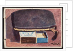 Purse and matches, c.1930 by Henry Silk