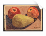 Apples and pears, c.1930 by Henry Silk