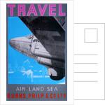 Travel: Air, Land Sea (Pink) by David Studwell