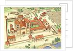 Romanesque Abbey. Model by Fernando Aznar Cenamor