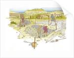 Roman road. Detail by Fernando Aznar Cenamor