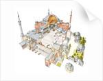 Hagia Sophia. Istanbul, Turkey by Fernando Aznar Cenamor