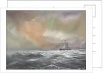 Bismarck signals Prinz Eugen 0959hrs 24th May 1941 by Vincent Alexander Booth