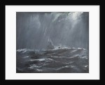 Gneisenau in a Storm, North Sea, 1940 by Vincent Alexander Booth