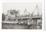 Hungerford Bridge, London by Vincent Alexander Booth