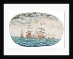 Battle of Trafalgar by Vincent Alexander Booth
