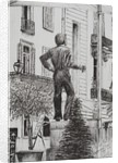 Statue at Cannet by Vincent Alexander Booth