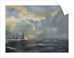 Japanese fleet in Pacific, 1942 by Vincent Alexander Booth
