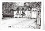 Condemned building,Prestbury by Vincent Alexander Booth