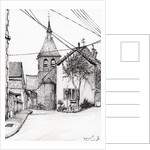 Church in Laignes,France by Vincent Alexander Booth