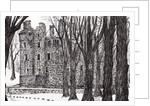 Huntly,Castle,Scotland by Vincent Alexander Booth