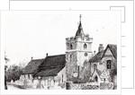 Brighstone Church I.O.W. by Vincent Alexander Booth