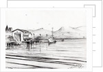 Customs boat at Oban by Vincent Alexander Booth