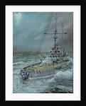 sms Friedrich der Grosse 1916 Jutland by Vincent Alexander Booth