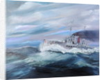 SMS Seydlitz enters Jutland 14:15 pm 31st May 1916, 2018 by Vincent Alexander Booth