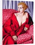 Red Kimono by Catherine Abel