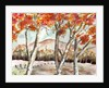 Red Trees by Neela Pushparaj