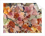 Autumn Leaves and flowers by Neela Pushparaj