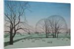 Frosty Morning, 2012 by Ann Brain