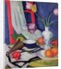 Still life with tulips, 1925 by Samuel John Peploe