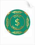 PokerChip $1 by Francois Domain