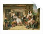 Scottish Settlers in North America by Thomas Faed
