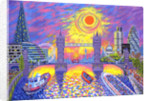Sunset:Pool Of London by David Newton