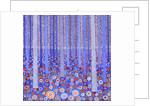 Blue Orange Forest by David Newton