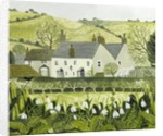 Cattistock with Snowdrops by Vanessa Bowman
