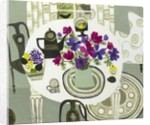 Interior with Anemones by Vanessa Bowman