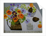 Nasturtiums and Gooseberries by Vanessa Bowman