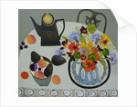 Nasturtiums ,Peaches and Avocados by Vanessa Bowman