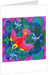 Swooping bird by Jane Tattersfield