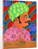 Maharaja with butterflies by Jane Tattersfield