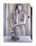 Woman on Phone by Ruth Addinall