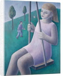 Girl on Swing by Ruth Addinall
