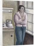 Woman Smoking by Ruth Addinall