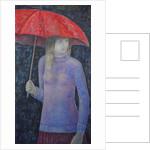 Red Umbrella by Ruth Addinall