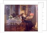 The Quiet Hour, 1913 by Albert Chevallier Tayler